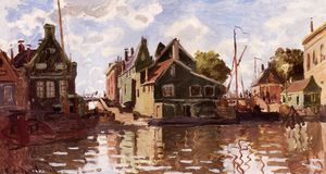 Claude Monet - Canal in Zaandam