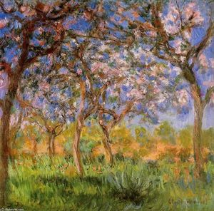 Claude Monet - Giverny in Springtime