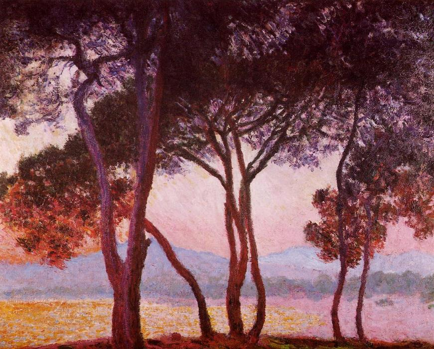 famous painting Juan-les-Pins of Claude Monet
