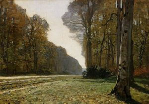 Claude Monet - Le Pave de Chailly