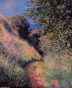 Claude Monet - Path at Pourville