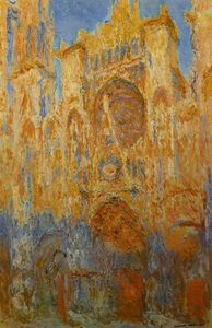 Claude Monet - Rouen Cathedral 1
