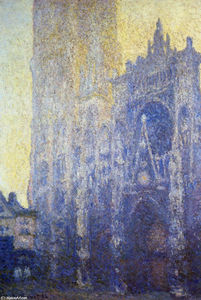 Claude Monet - Rouen Cathedral, the Portal, Morning Effect