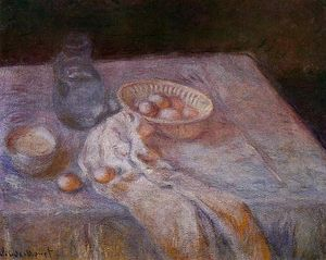 Claude Monet - Still Life with Eggs