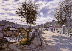 Claude Monet - The Bridge at Bougival