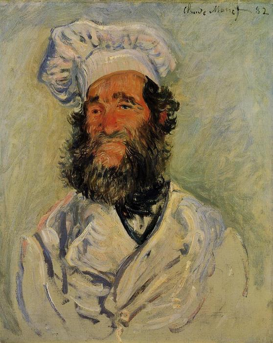 famous painting The Chef, Pere Paul of Claude Monet