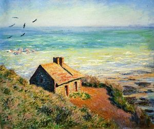 Claude Monet - The Costoms House, Morning Effect