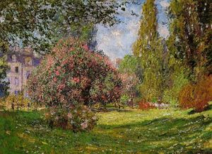Claude Monet - The Parc Monceau, Paris