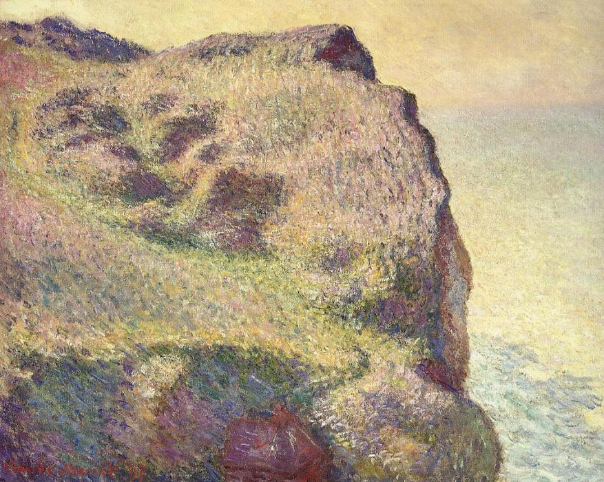 famous painting The Pointe du Petit Ailly of Claude Monet