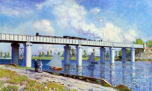 Claude Monet - The Railroad Bridge at Argenteuil
