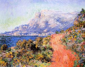 Claude Monet - The Red Road near Menton