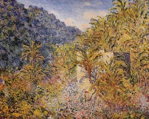 Claude Monet - The Valley of Sasso