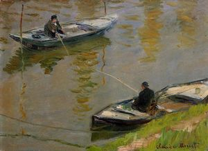 Claude Monet - Two Anglers