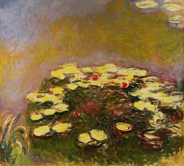 famous painting Water-Lilies 56 of Claude Monet