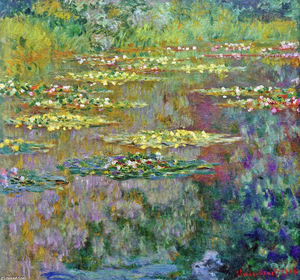 Claude Monet - Water Lilies (8)