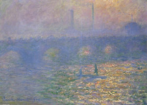 Claude Monet - Waterloo Bridge, London