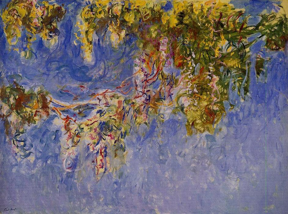 famous painting Wisteria 1 of Claude Monet