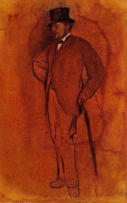 famous painting Achille De Gas of Edgar Degas