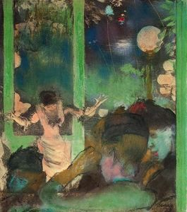 Edgar Degas - At the Cafe des Ambassadeurs 1