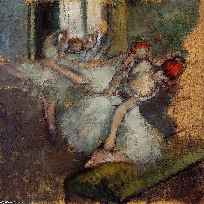 famous painting Ballet Dancers of Edgar Degas