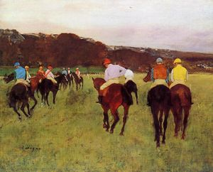 Edgar Degas - Before the Race 4