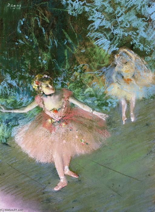 famous painting Dancers on Set of Edgar Degas
