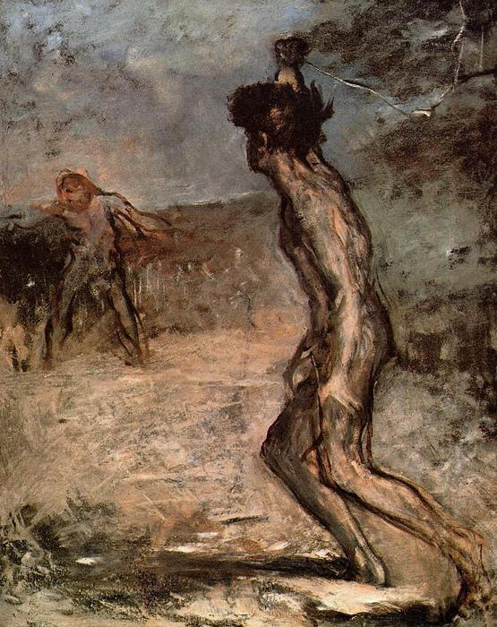 famous painting David and Goliath of Edgar Degas