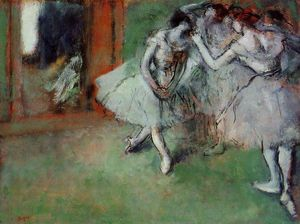 Edgar Degas - Group of Dancers 1