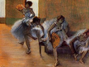 Edgar Degas - In the Dance Studio