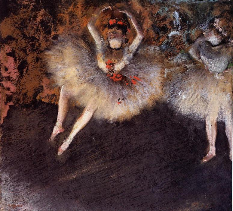 famous painting Le Pas Battu of Edgar Degas