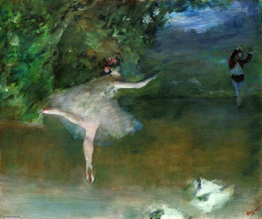 famous painting Les Pointes of Edgar Degas