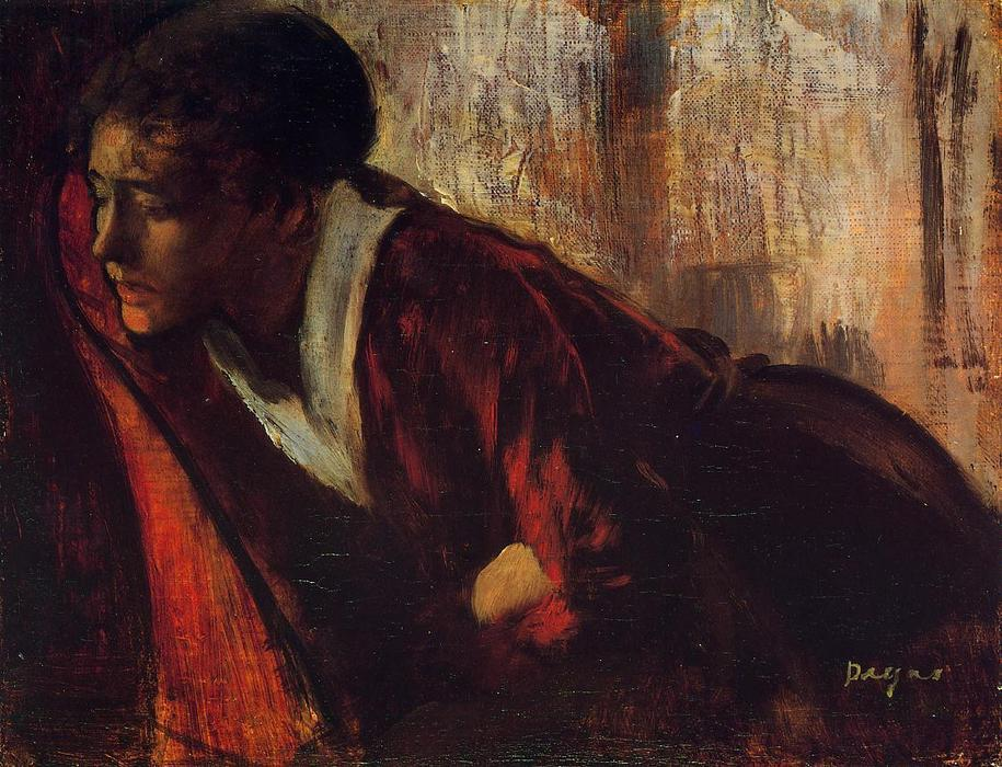 famous painting Melancholy of Edgar Degas