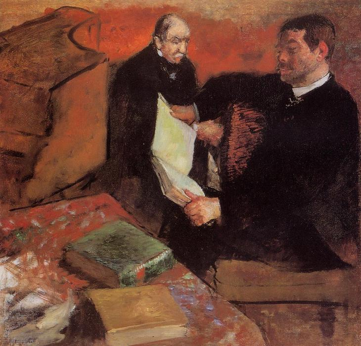 famous painting Pagan and Degas' Father of Edgar Degas