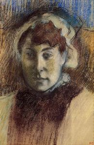 Edgar Degas - Portrait of Madame Ernest May