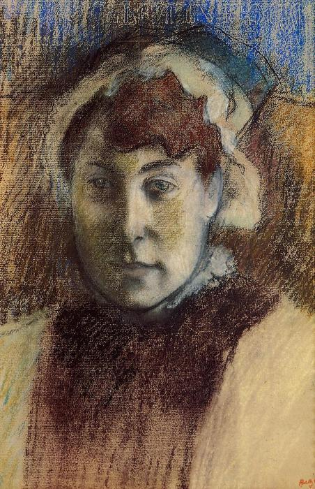 famous painting Portrait of Madame Ernest May of Edgar Degas