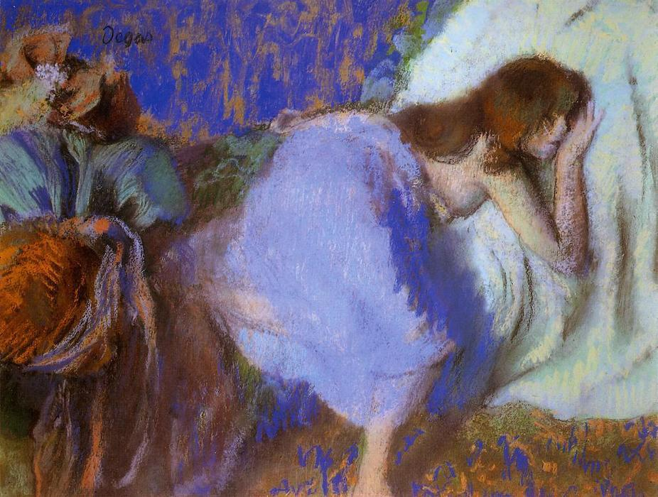 famous painting Rest of Edgar Degas
