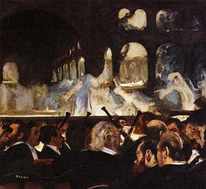 Edgar Degas - The Ballet Scene from 'Robert la Diable