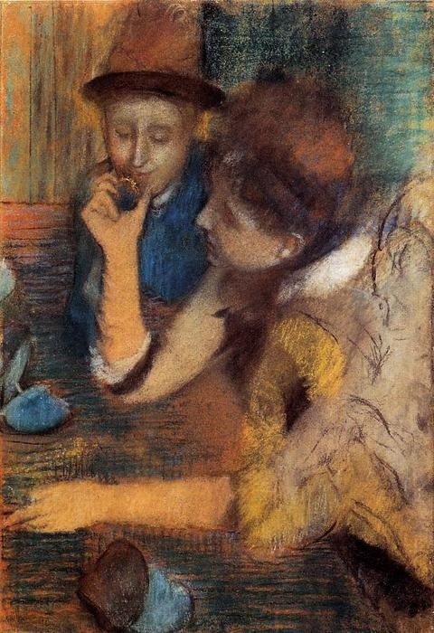 famous painting The Jewels of Edgar Degas