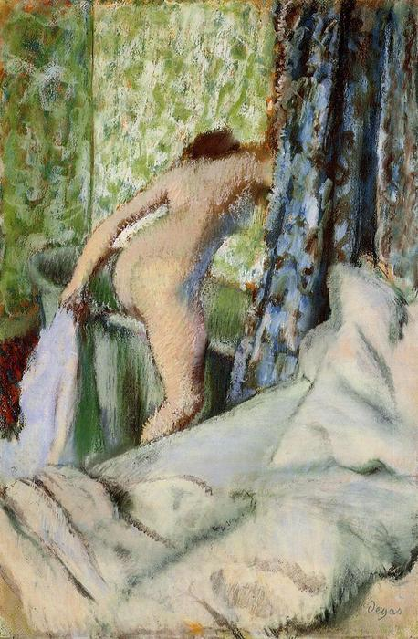 famous painting The Morning Bath of Edgar Degas