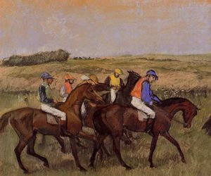 Edgar Degas - The Racecourse