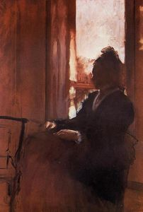 Edgar Degas - Woman at the Window 1