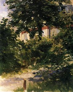 Edouard Manet - A Path in the Garden at Rueil
