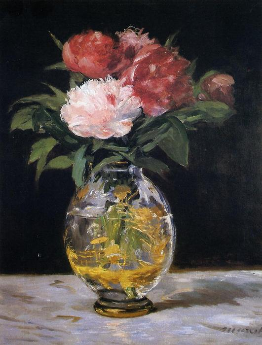 famous painting Bouquet of flowers of Edouard Manet