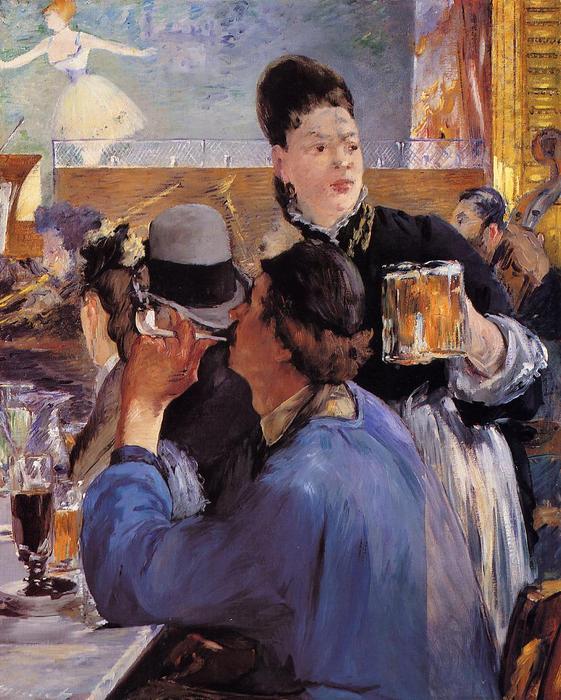 famous painting Corner in a Cafe-Concert of Edouard Manet