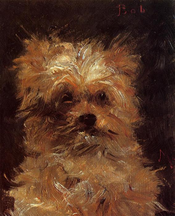 famous painting Head of a Dog, 'Bob' of Edouard Manet