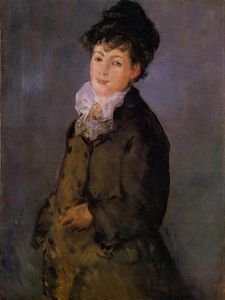 Edouard Manet - Isabelle Lemonnier with a White Scarf