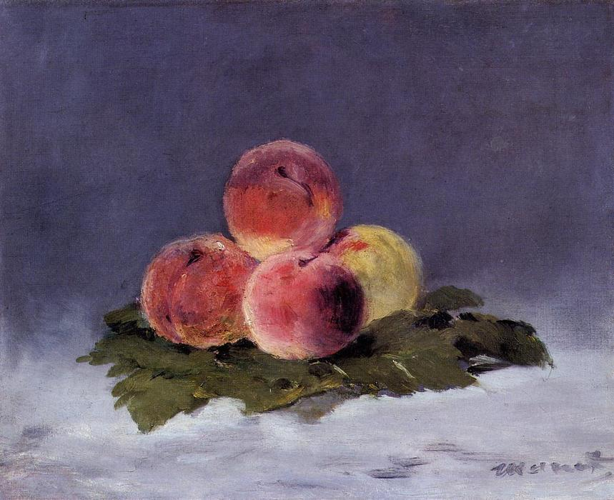 famous painting Peaches of Edouard Manet
