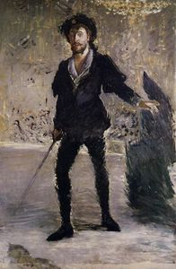Edouard Manet - Portrait of Faure as Hamlet