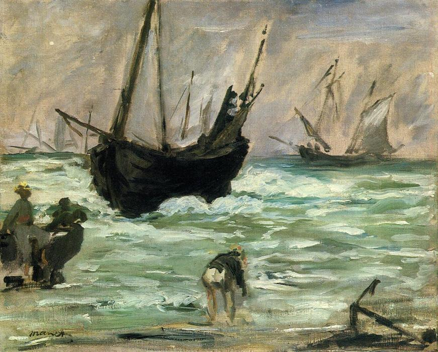 famous painting Seascape of Edouard Manet