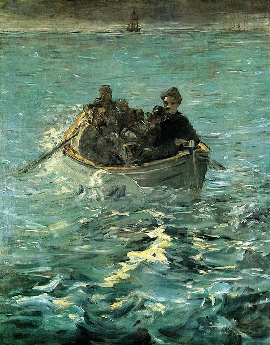 famous painting The Escape of Rochefort of Edouard Manet
